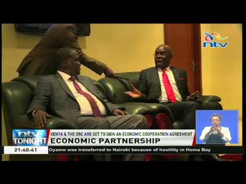 Kenya and DRC set to sign an Economic Cooperation Agreement