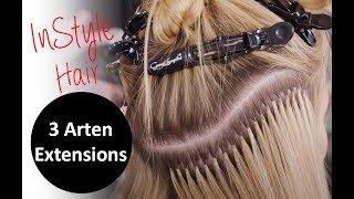 Extensions: InStyle Testet 3 Arten Der Haarverlängerung