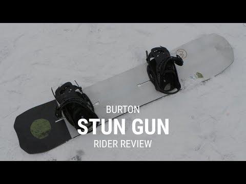 Burton Stun Gun 2019 Snowboard Rider Review – Tactics.com