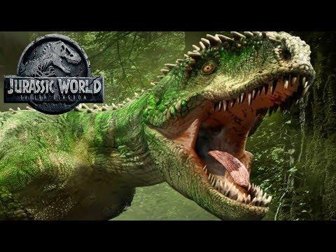 Giganotosaurus Appearance Leak? | Jurassic World Fallen Kingdom