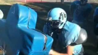 Burns High School Football: O-line #3
