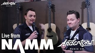 Taylor's new Academy Series and GS Mini Bass at NAMM 2017