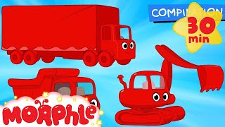 Big Truck Cartoons With Morphle Animations For Kids