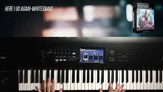 Here I Go Again Whitesnake Korg Nautilus Session Gig Covers Sound Pack Synth Keyboard Patches