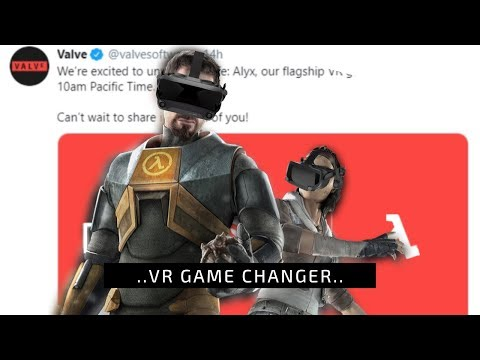 This is why Half Life Alyx is a big deal for VR..