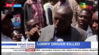 Locals hold protests, demand justice after Isiolo lorry driver was killed