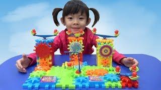 Đồ Chơi Thông Minh – Bộ Lắp Ghép Chuyển Động Bánh Răng ❤ AnAn ToysReview TV ❤