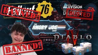 AJS News - Fornite Jarvis BANNED, Fallout 76 BANS,  EA CHEATING, Diablo 4 Microtransactions Coming!