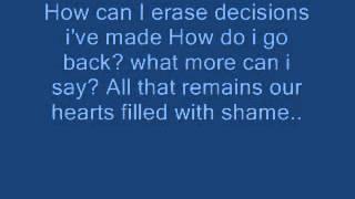 Blank Page- Christina Aguilera [(Lyrics)] (:
