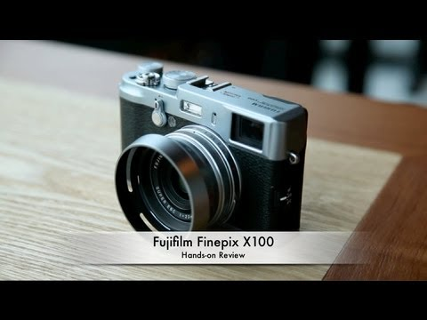 Fujifilm Finepix X100 Hands-on Review