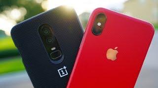 OnePlus 6 vs Apple iPhone X Camera Comparison Test