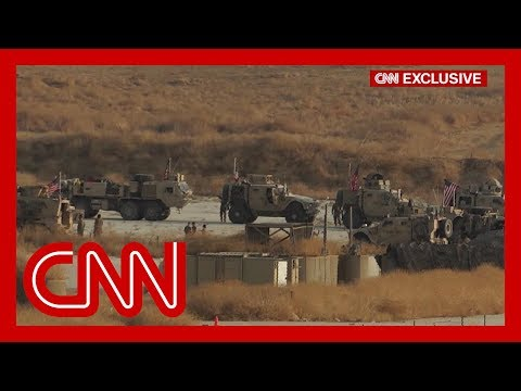Largest US troop withdrawal from Syria is currently underway