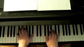 How to play Autumn Leaves -- Easy Piano Arrangment