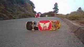 Santa Claus slides Blacks Hill | MuirSkate Longboard Shop