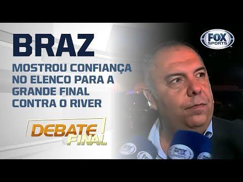 Braz diz que Flamengo está preparado para ser campeão da Libertadores: 'Sonho de qualquer um'
