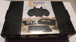 Citadel Project Box unboxing and review (WH40K)
