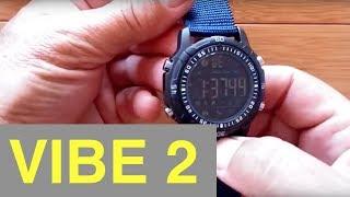 Zeblaze VIBE 2 DIGITAL 5 ATM Waterproof Smartwatch: Unboxing and Review