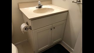 How To Replace A Bathroom Vanity