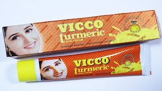 Vicco Turmeric Cream Review | Pros, Cons & How To Use In Hindi