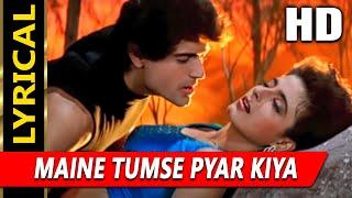 Maine Tumse Pyar Kiya With Lyrics | Kumar Sanu   - YouTube