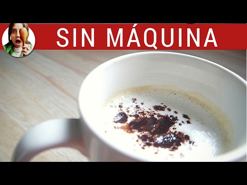 ESPUMA de leche para el café SIN máquina - Paulina Cocina