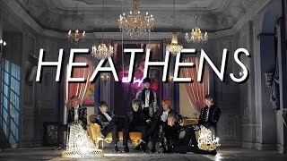 BTS | all my friends are heathens