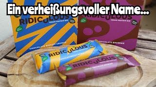 The Protein Works Ridiculous Vegan Protein Bars Review