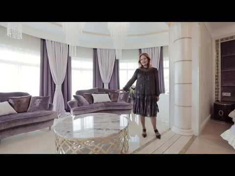 Проект интерьера роскошной спальни