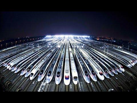Как Китай за 10 лет построил самую большую сеть железных дорог в мире