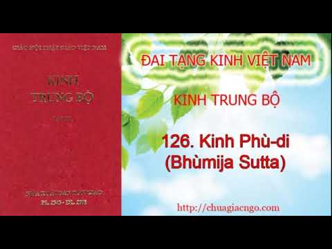Kinh Trung Bộ - 126. Kinh Phù-di