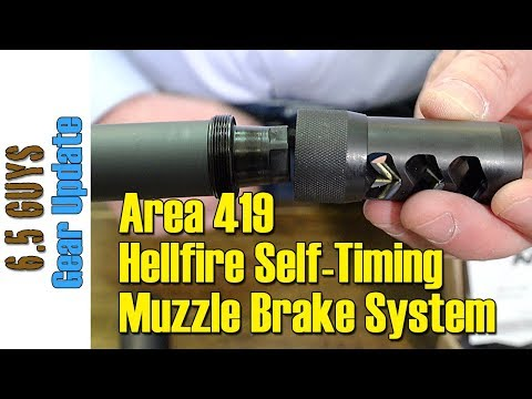 Area 419 Hellfire Self Timing muzzle brake Unboxing and review