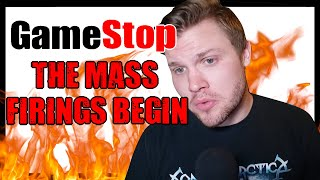 Gamestop Begins Mass Firings! | New Abusive Policy | Game Over!