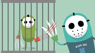 Dumb Ways To Die All Series New Update! PSYCHO SEARCH   New Funny Ways To Die