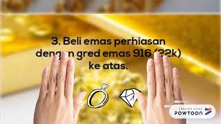 5 Tips Membeli Emas Perhiasan / Barang Kemas