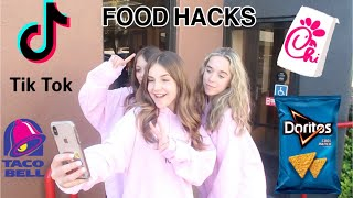 WE CREATED VIRAL TIK TOK FOOD HACKS ft. Piper Rockelle & Sophie Fergi **CRAZY**