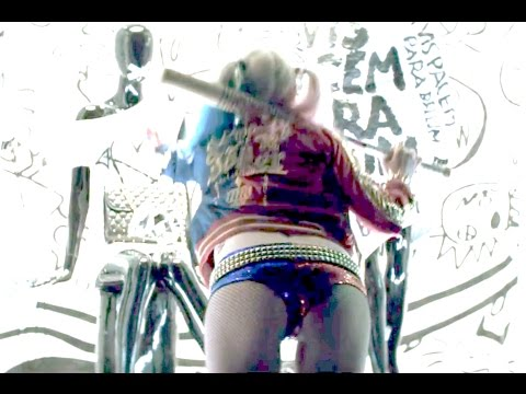 ALL Harley Quinn scenes in Suicide Squad [SEXY]