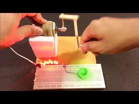 How to make a Generator at home | mini DIY Generator