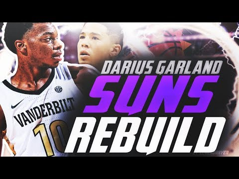 DARIUS GARLAND SUNS REBUILD!! NEW SUPERTEAM?! NBA 2K19