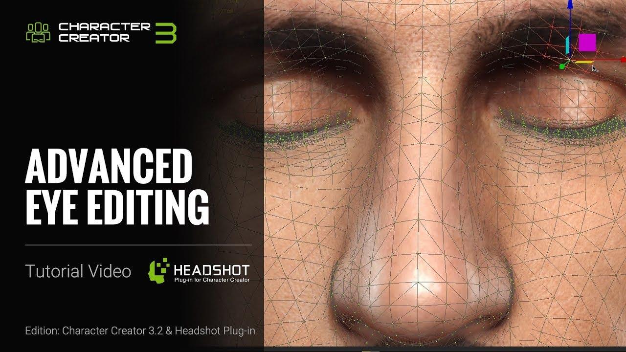 Headshot - Advanced Eye Editing