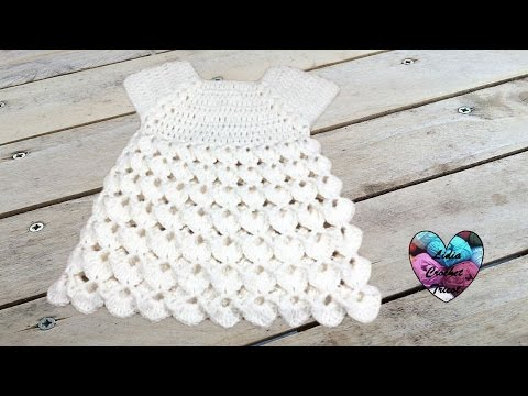 Robe Point En Relief Crochet Toutes Tailles Dress All