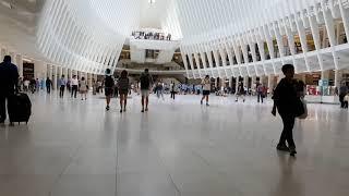 Два коротких видео новой станции метро Oculus (WTC) в Манхэттене