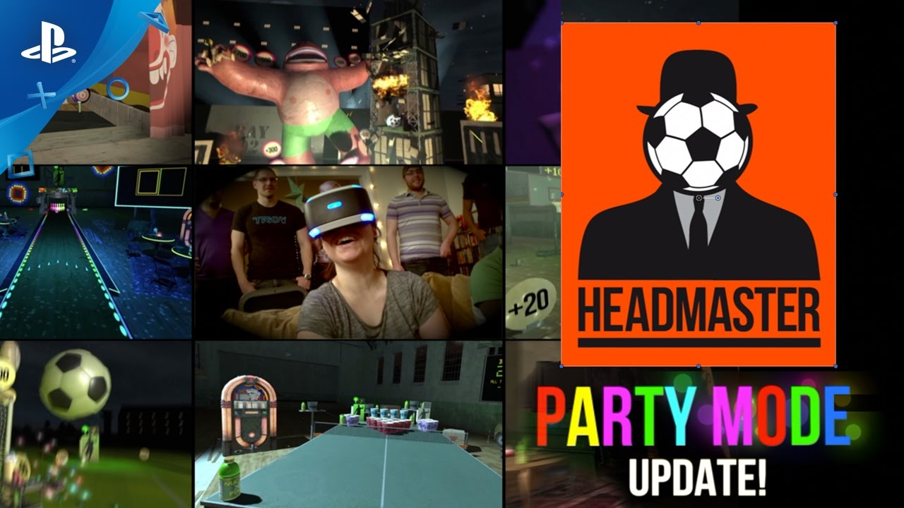 Headmaster Party Mode Update Adds 9 Multiplayer Levels Today