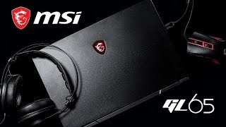 YouTube Video L-gA5HbO658 for Product MSI GP65 Leopard / GL65 Leopard Gaming Laptop by Company MSI (Micro-Star International) in Industry Computers