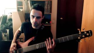 Bass Cover Parkway Drive  - Idols and Anchors