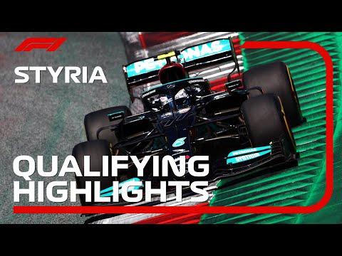 F1第8戦オーストリアGPの予選タイムアタックのハイライト動画
