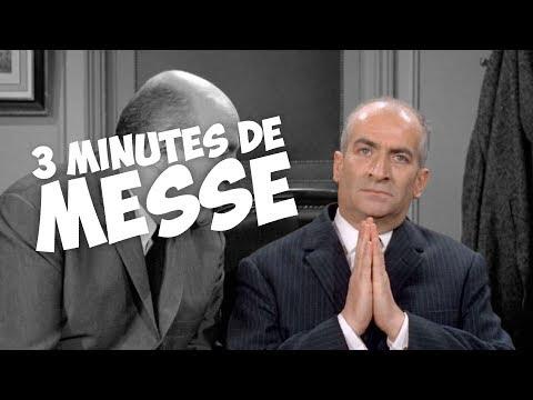 3 minutes de messe avec Louis de Funès !