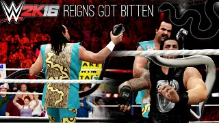 WWE 2K16 PC Mod: Roman Reigns got bitten by a BLACK SNACK