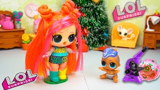 Хочешь подарок на Новый Год? Сборник - СМЕШНЫЕ МУЛЬТИКИ про Куклы ЛОЛ Сюрприз! Игрушки LOL Dolls