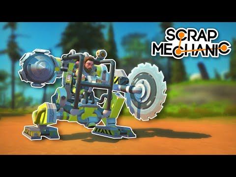This Power Armor Exosuit is Designed for Survival! - Scrap Mechanic Best Builds