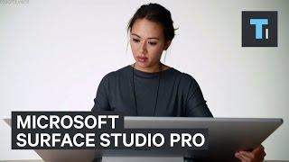 Microsoft first desktop PC: Surface Studio